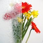 Eisblumenklarglas