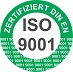Logo DIN EN ISO 9001 für Pfeiffer HP